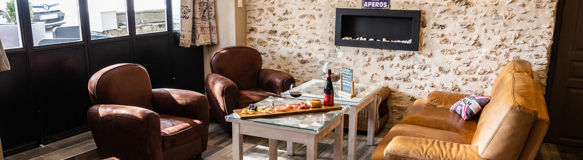 Espace Lounge - Auberge de la Garenne