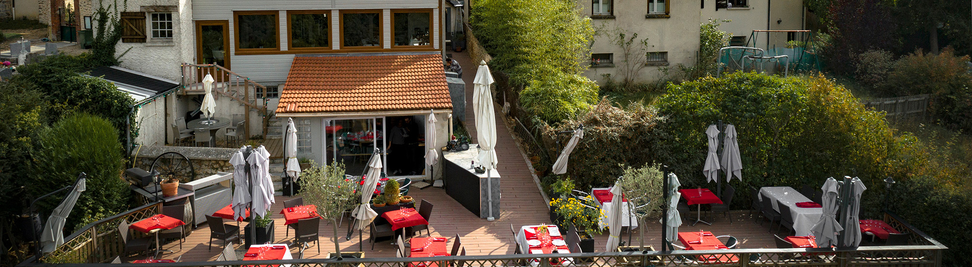 Terrasse - Auberge de la Garenne