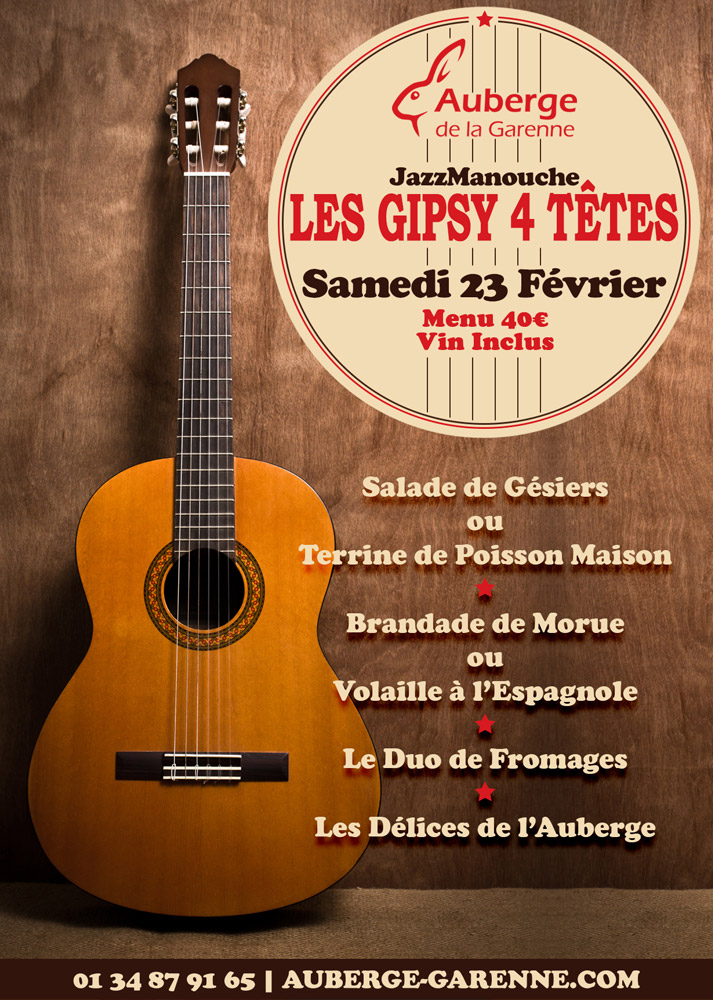 Les Gipsy 4 Têtes - Jazz Manouches