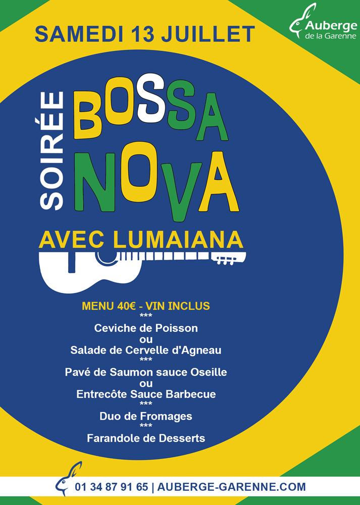 Soirée Bossa Nova – Lumaiana