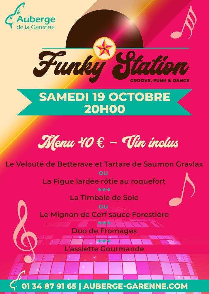 Soirée Funk, Disco & Soul - FunkyStation