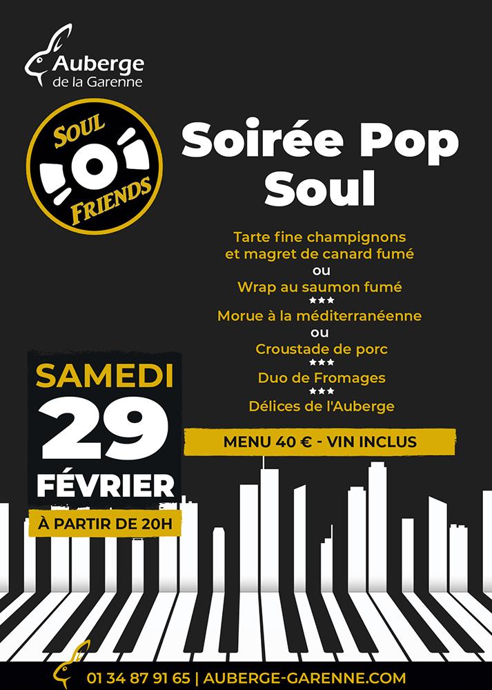 Soul Friends - Soirée Pop Soul